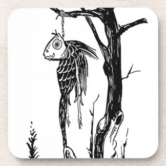 Cod, Hanging on a Branch Drink Coasters