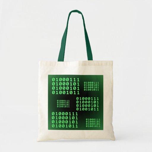 Code binaire pour le GEEK Sac En Toile