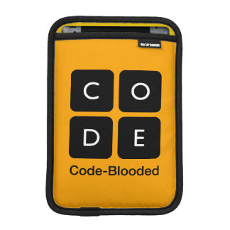 Code-Blooded iPad Mini Sleeves