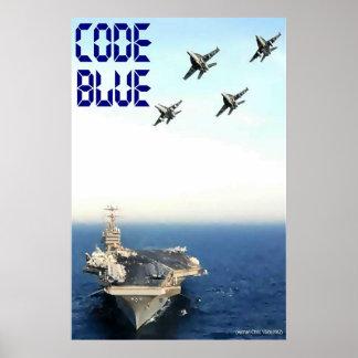 Code Blue: CVN 70 Poster