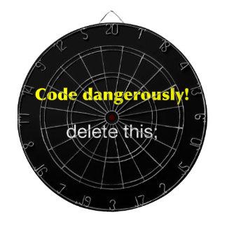 Code Dangerously Dartboard
