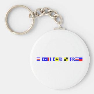 code flag captain lance keychains