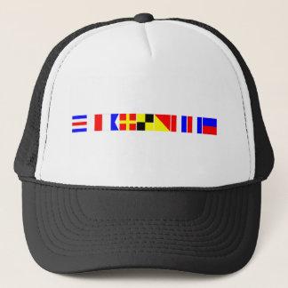 Code Flag Charlotte Trucker Hat