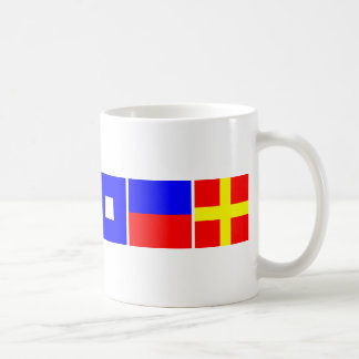Code Flag Cooper Coffee Mug