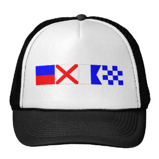 Code Flag Evan Trucker Hat