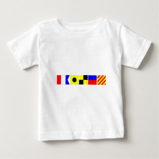 Code Flag Hailey Baby T-Shirt