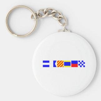 Code Flag Jayden Keychain