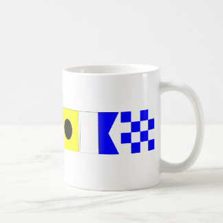 Code Flag Julian Coffee Mug