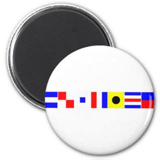 code flag justice magnet