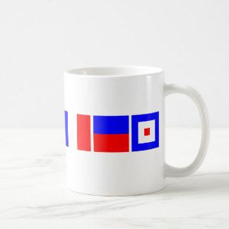 Code Flag Matthew Basic White Mug