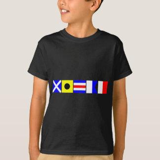 Code Flag Micah T-Shirt