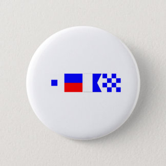 Code Flag Sean 2 Inch Round Button