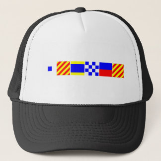 Code Flag Sydney Trucker Hat
