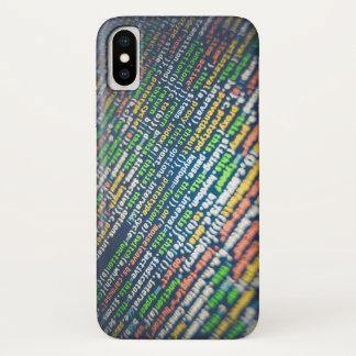 Code iPhone X Case