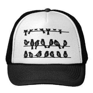 Code Key - Birds on a wire Trucker Hat