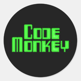 Code Monkey Sticker