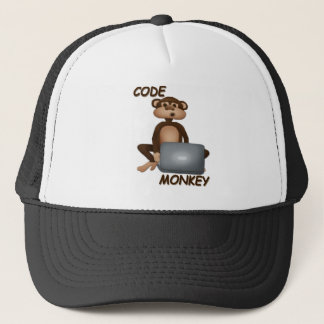 Code Monkey Trucker Hat