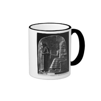 Code of Hammurabi, top of the stele Coffee Mug
