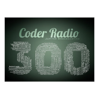 Coder Radio 300 Poster