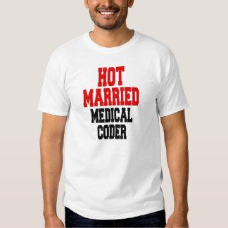 Codeur médical marié chaud t-shirt
