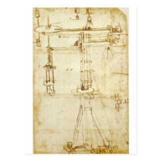 Codex Atlanticus Postcard