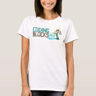 Coding Blocks Horizontal Logo T-Shirt