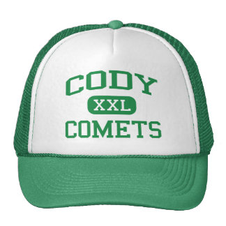 Cody - Comets - High School - Detroit Michigan Trucker Hat