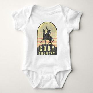 Cody Country Wyoming Baby Bodysuit