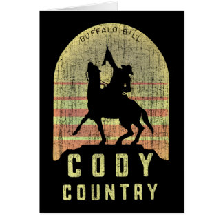 Cody Country Wyoming Card