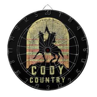 Cody Country Wyoming Dartboard
