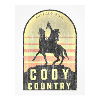 Cody Country Wyoming Letterhead