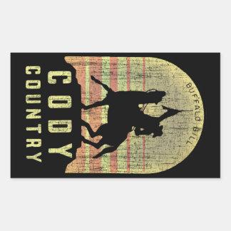 Cody Country Wyoming Sticker