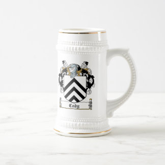 Cody Family Crest Beer Stein