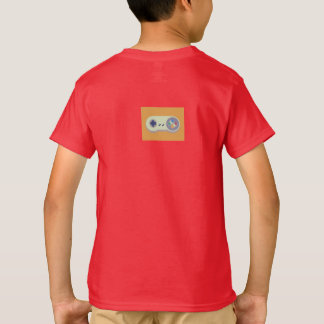 Cody Games Kids Red T-Shirt With Logo On Back