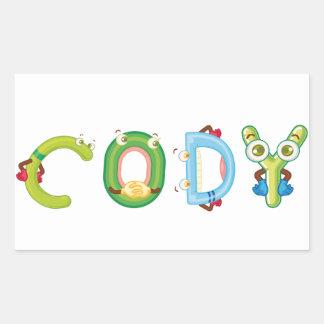 Cody Sticker
