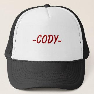-CODY- TRUCKER HAT