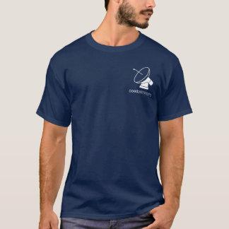 coed astronomy dark t-shirt