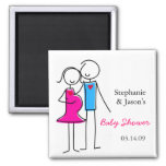 Coed Baby Shower Magnet Favours