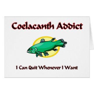 Coelacanth Addict Card
