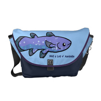 Coelacanth Messenger Bag