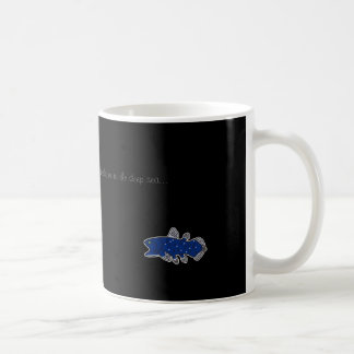 Coelacanth Mug Black
