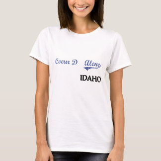 Coeur D'Alene Idaho City Classic T-Shirt