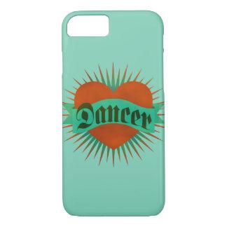 Coeur de grunge de danseur coque iPhone 7