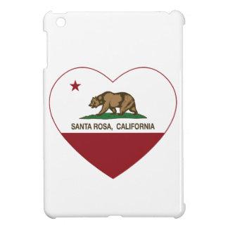 coeur de Santa Rosa de drapeau de la Californie