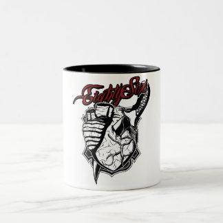 Coeur sanglant mug à café