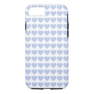 Coeurs bleus d'Alice dans un jardin anglais de Coque iPhone 7