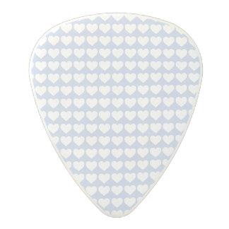 Coeurs bleus d'Alice dans un jardin anglais de Médiator En Polycarbonate