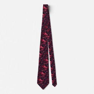Coeurs de Digitals Valentine Cravate Avec Motifs