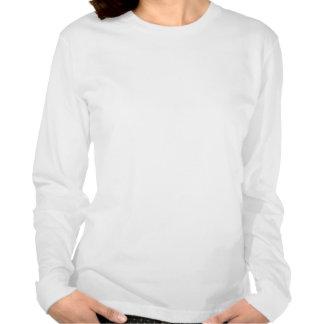 Coeurs de survivant de Cancer ovarien doubles Tee Shirt