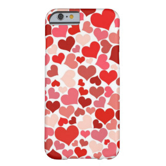 Coeurs mignons coque iPhone 6 barely there